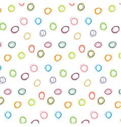 Abstract colorful polka dot pattern vector