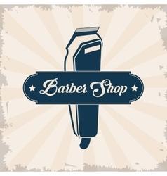 Barber shop design hair salon Stylist icon vector