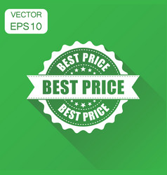 Best price sale rubber stamp icon business vector