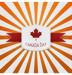 Canada Day Sale modern graphic Badge vector
