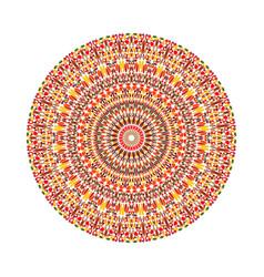 Circular petal pattern mandala - ornate vector