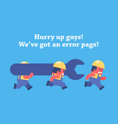 Error page design vector