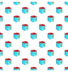 Fryer pattern cartoon style vector