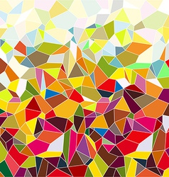 Mosaic small tiles vector image