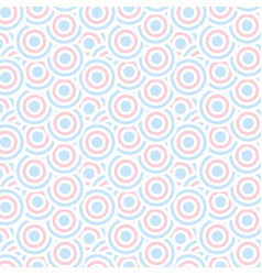 seamless circles pattern dot pattern geometric vector image