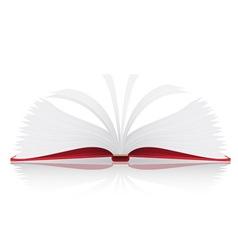 open book vector image vector image