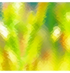 abstract geometric background in green color vector image