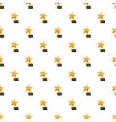 Award star pattern vector