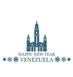Greeting Card Venezuela vector