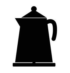 kettle icon on white background flat style vector image