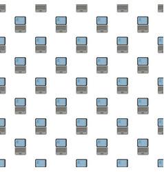 Laptop pattern seamless vector