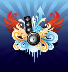 royal speaker vector image