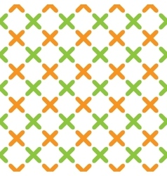 Color pattern 03 vector image vector image