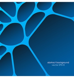 Network abstract background smooth lines vector image vector image