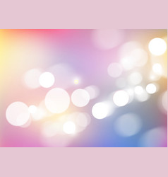 Abstract blurred colors background with bokeh vector