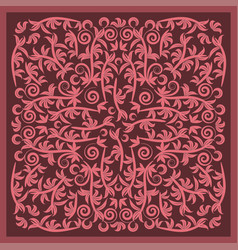 colorful bandana image vector image