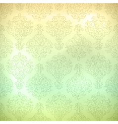 Grunge retro seamless pattern wallpaper vector image