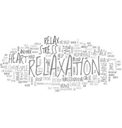 Why relax text word cloud concept vector