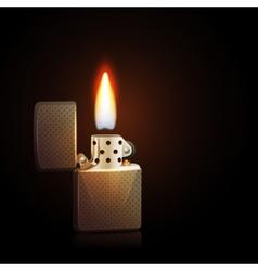 Gasoline Lighter vector image