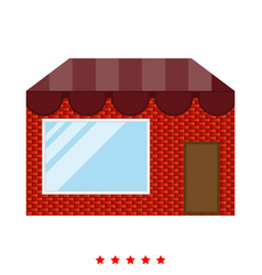 store icon different color vector image