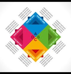 Creative lead info-graphics concept vector