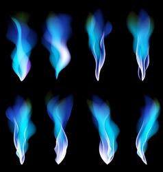 Dark blue abstract background smoke vector