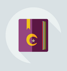 Flat modern design with shadow icons curran vector