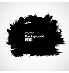 Grunge ink draw background vector