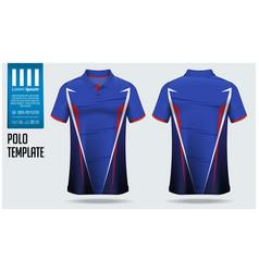 Polo t-shirt mockup template design vector