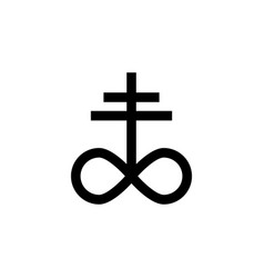 Religion symbol satanic church icon element of vector