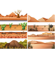 Set dry land vector