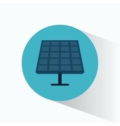 Solar energy panel source alternative vector