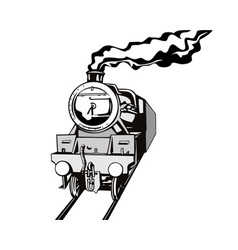 Vintage Train Retro vector image