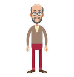 character male member family vector image vector image