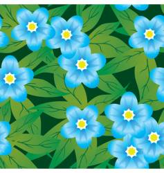 abstract forget me not's flower vector image vector image