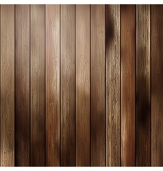Big Brown wood plank wall texture vector image
