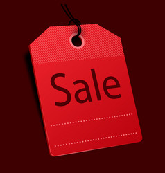 price tag sale concept vector image