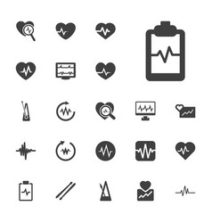 22 beat icons vector