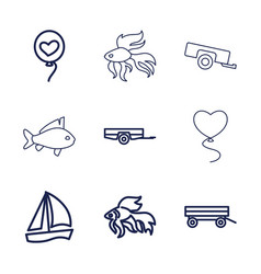 9 eps10 icons vector