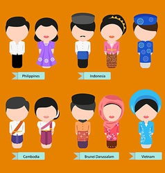 Asean clothing2 vector