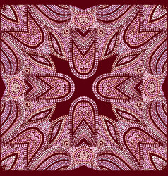 Bandana classy - traditional ethnic pattern vector