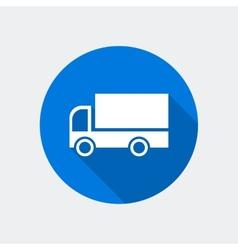cargo van icon vector image