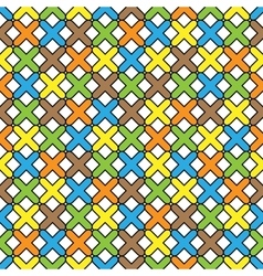 Color pattern 06 vector image vector image