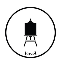 Easel icon vector image