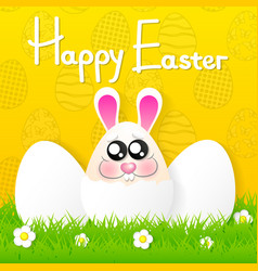 easter banner background vector image