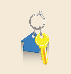 House key icon real estate ilustration vector