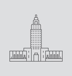 Louisiana vector