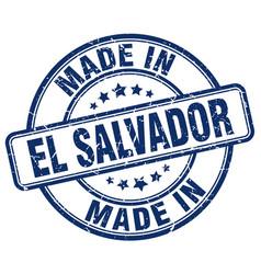 made in el salvador vector image