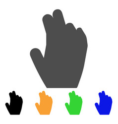 Manage hand icon vector