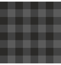 Tile grey and black plaid pattern vector image